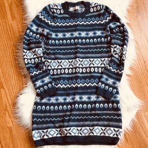 2 for $15 🏖 Abercrombie Kids Ikat Sweater Dress